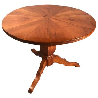 1820s Biedermeier Cherry Wood Dining Table For Sale