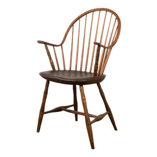 Continuous Arm Windsor Dining Chair For Sale