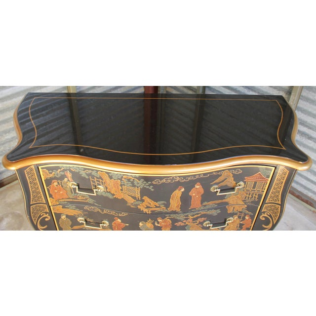 Mid 20th Century Drexel Et Cetera Chinoiserie Chest of Drawers For Sale - Image 5 of 11
