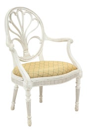 Image of Newly Made White Club Chairs