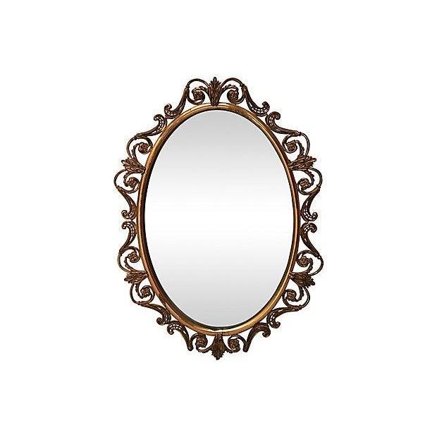 Brass Convex Mirror - Image 8 of 8