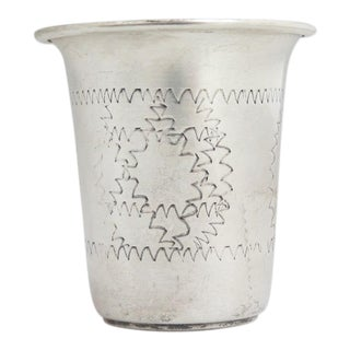 Esco Sterling Kiddush Cup/Jigger For Sale