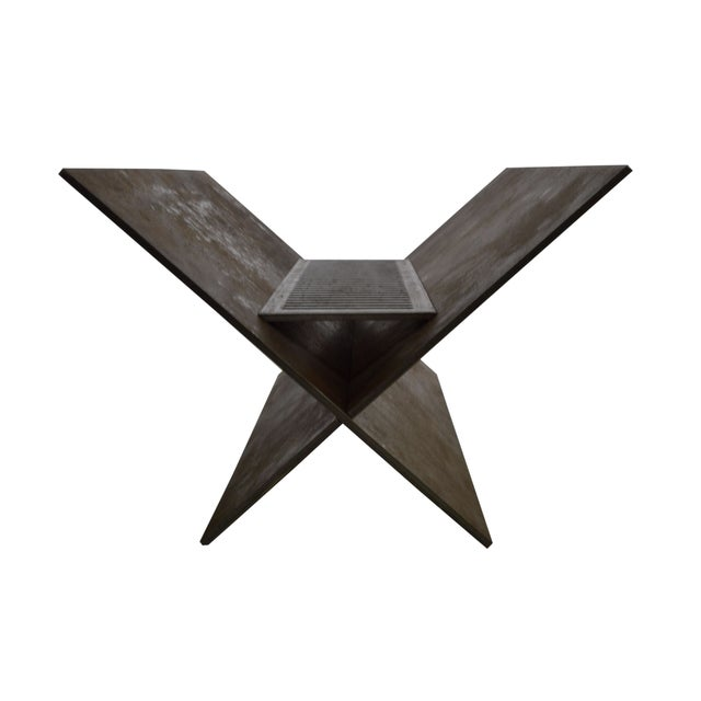 Not Yet Made - Made To Order Contemporary Minimalist Steel Patio or Garden Fire Pit by Scott Gordon For Sale - Image 5 of 6