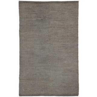 Jaipur Living Anthro Natural Dark Gray Area Rug - 2′ × 3′ For Sale