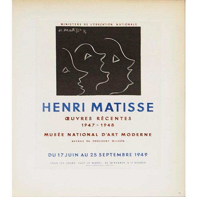 Henri Matisse Henri Matisse, Musee National d'Art Moderne, 1959, Lithograph For Sale - Image 4 of 4