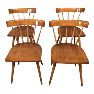 1950s Mid-Century Paul McCobb Planner Group Dining Chairs - Set of 4 For Sale