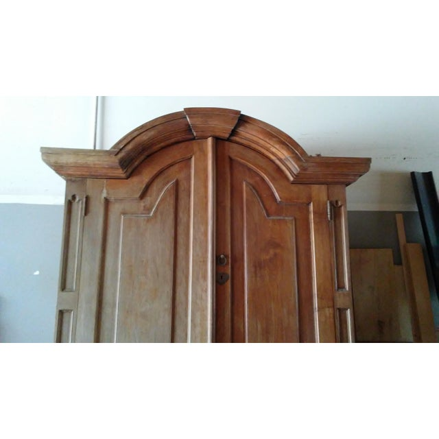 Large Mahogany Blanket Armoire - Image 4 of 5