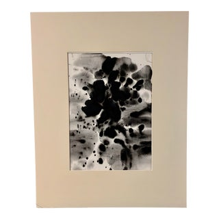 1960s Ink Splotches by Art School Student For Sale