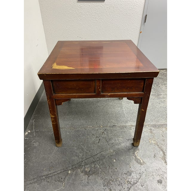 Chinese Mid 20th Century Chinese Game Table For Sale - Image 3 of 11