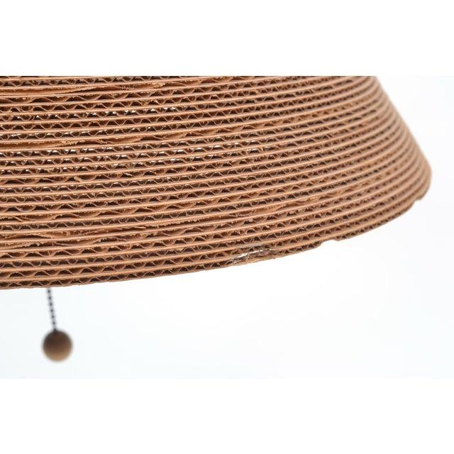 Modern Gregory Van Pelt Corragated Cardboard Hanging Light For Sale - Image 3 of 9
