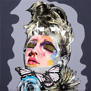 """Cupid's Dream"" Original Artwork by Am DeBrincat For Sale"