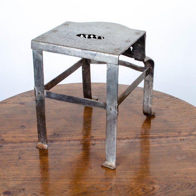 19th Century Antique Steel Footman For Sale - Image 4 of 6