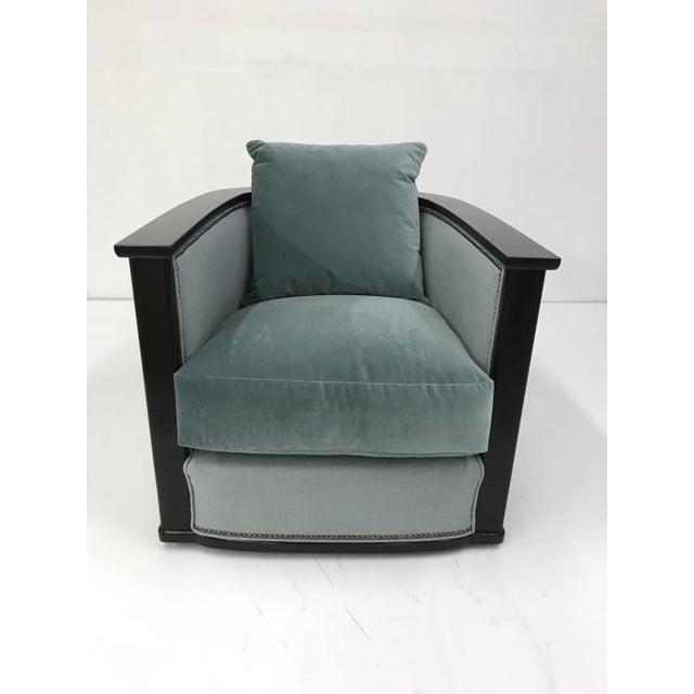 Century Furniture Century Furniture Jupiter Swivel Chair For Sale - Image 4 of 4
