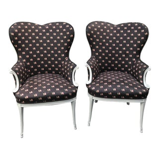 Vintage Sweetheart Chairs - A Pair