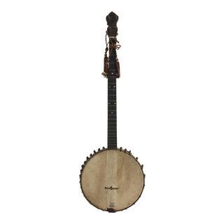 Vintage Open Back Banjo
