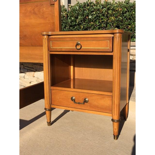 J.B. Van Sciver Company 1950s Danish Modern j.b. Van Sciver Co. Nightstand Side Table For Sale - Image 4 of 13