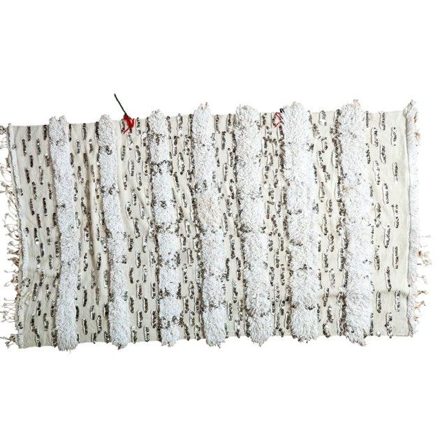 "Vintage Wedding Blanket Rug - 3'8"" x 6'7"" - Image 1 of 6"