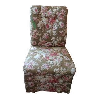 19th Century French Slipper Chair For Sale