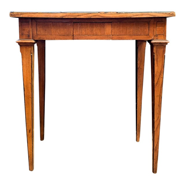 Late 1800's Napoleon Style Side Table For Sale