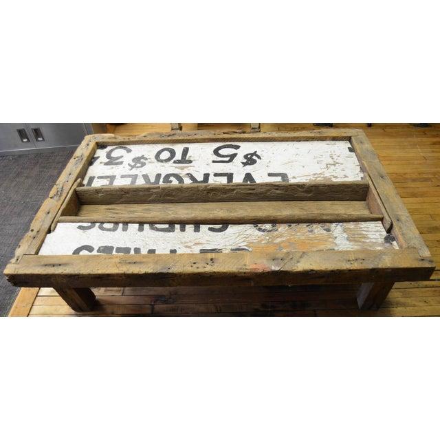 Barn Wood Coffee Table - Image 5 of 7