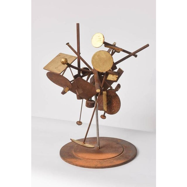Abstract Expressionism Kinetic Dimensional Works, Abstract Expressionism Sculpture For Sale - Image 3 of 11