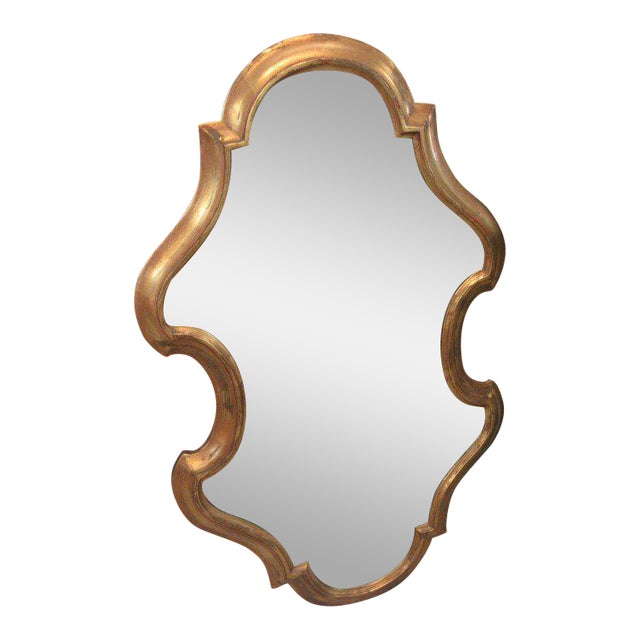Free Form Hollywood Regency Mirror - Image 1 of 5