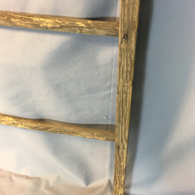 Rustic Country Decorative Ladder For Sale - Image 5 of 8