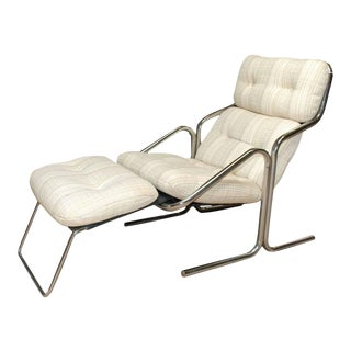 Mid-Century Lounger by Jerry Johnson For Sale