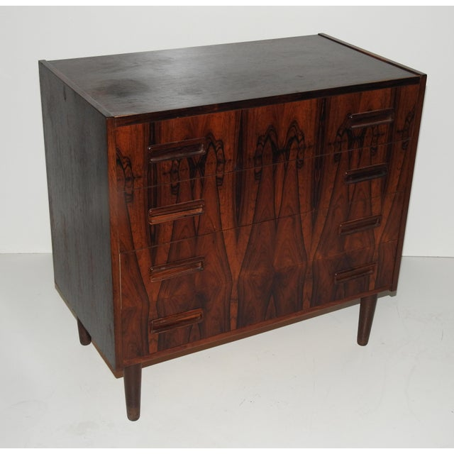 Danish Rosewood Bachelor's Chest - Image 3 of 6
