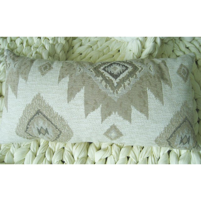 Contemporary Lumbar Incaico Decorative Pillow For Sale - Image 3 of 3