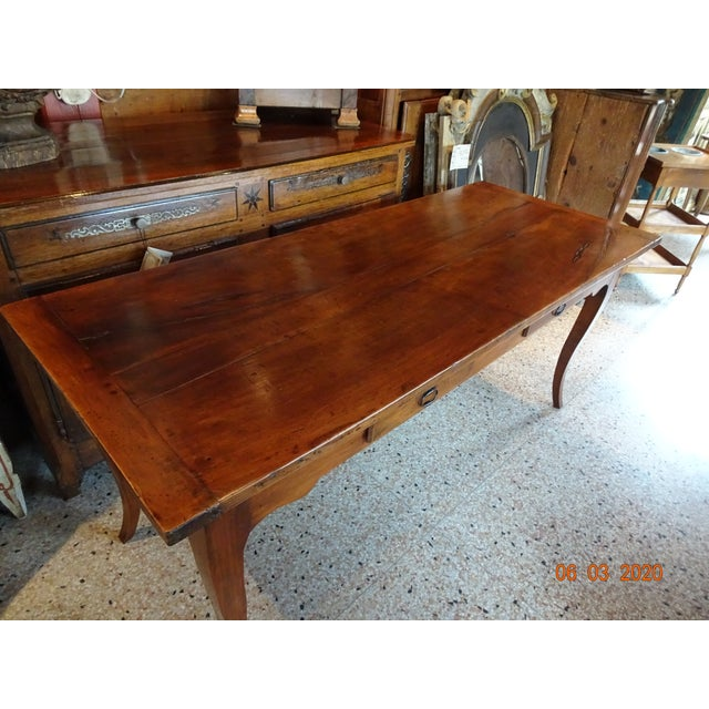 19th Century French Farm Table For Sale - Image 11 of 13