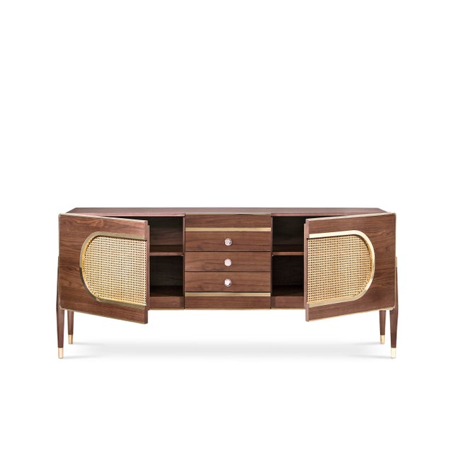 Dandy is a sleek and stylish wooden sideboard. Since its very versatile, it can be used as a drinks cabinet and located...