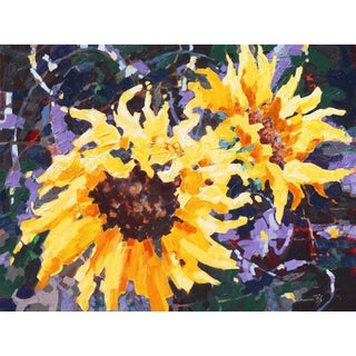 Sunflower II by Teresa Smith, 2019 For Sale