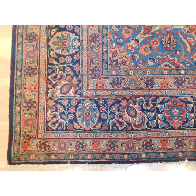 """Traditional Vintage Persian Tabriz Rug - 8'3"""" X 11'3"""" For Sale - Image 3 of 5"""