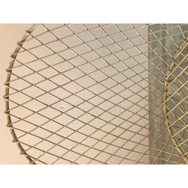 French Painted Wire Tub Back Chairs - a Pair - Image 6 of 10