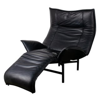 1980s Vintage Vico Magistretti Veranda Lounge Chair for Cassina For Sale