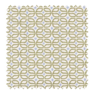 Sample - Pepper Loomi Green Fabric For Sale