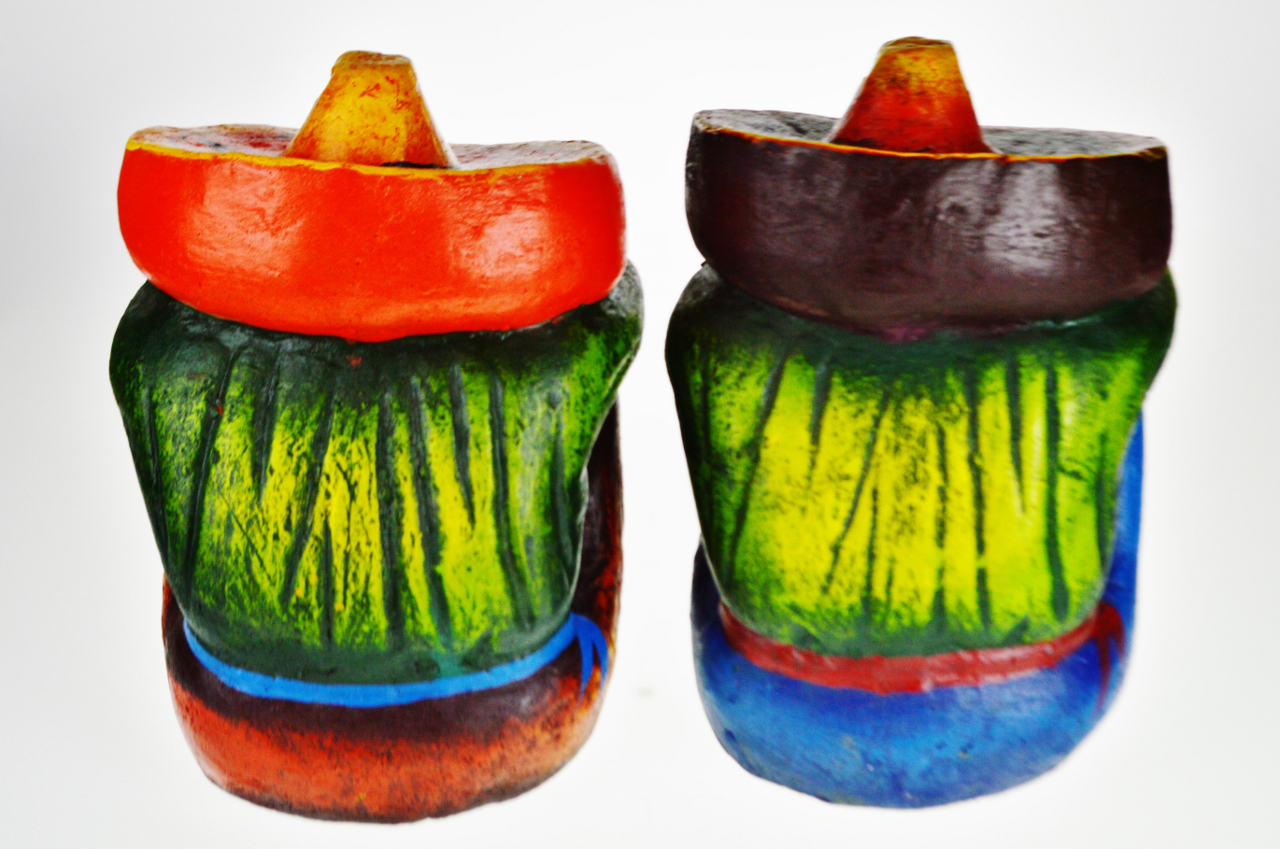 Vintage Ceramic Sleeping Mexican Garden Statues   A Pair For Sale In  Philadelphia   Image 6
