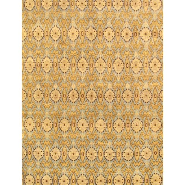Pasargad Ikat Wool Rug- 5′1″ × 8′ For Sale