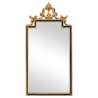 Black & Gold Neoclassical Mirror