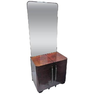 FRENCH MODERNIST ART DECO VANITY For Sale