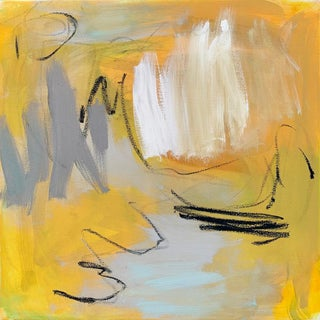 """""""Happy Trails"""" by Trixie Pitts Abstract Expressionist Oil Painting For Sale"""