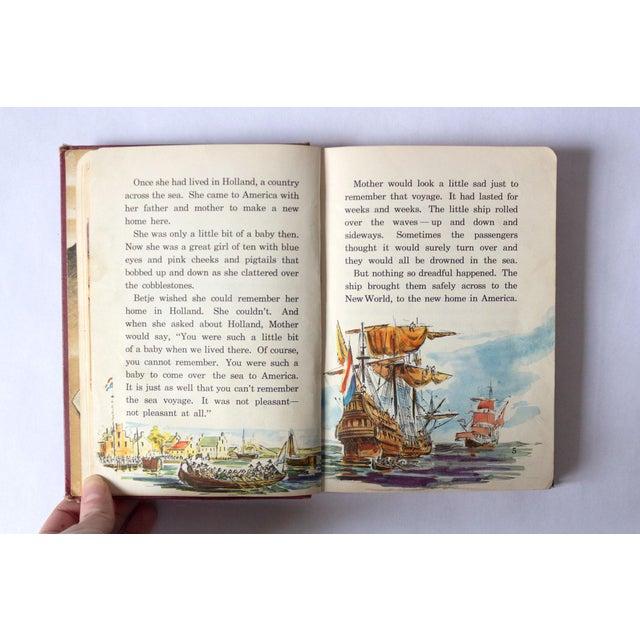 "Mid-Century Modern ""All Around America"" Vintage Children's Book For Sale - Image 3 of 10"