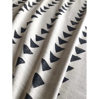 Mudcloth Style Upholstery Fabric - 1 Yard For Sale