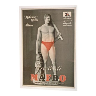 Poster Mafbo -Red Suit For Sale