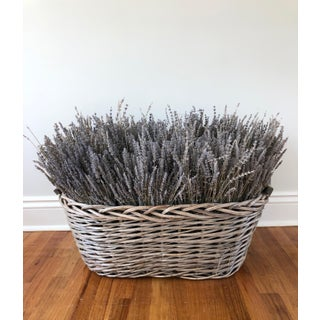 French Lavender Filled Basket Preview