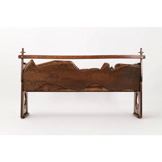 Contemporary Jan De Swart Sculptural Bench For Sale - Image 3 of 9