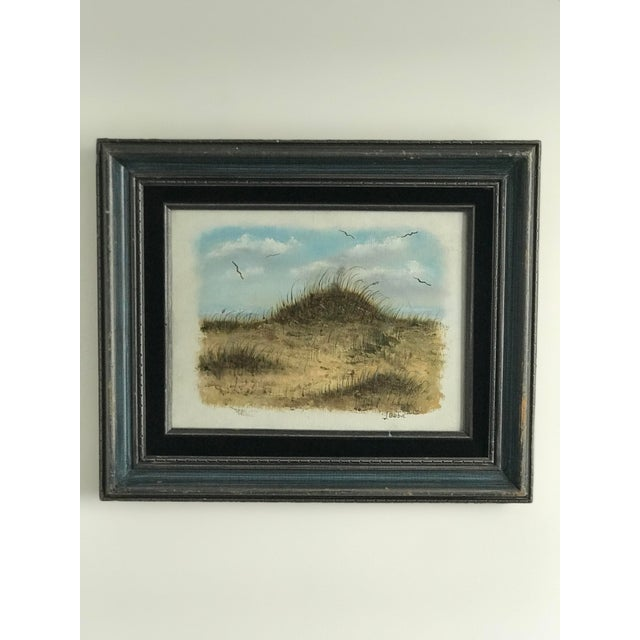 Vintage Dunes on the Cape Oil Painting For Sale - Image 10 of 10