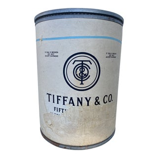 1950's Tiffany & Company Shipping Barrel For Sale