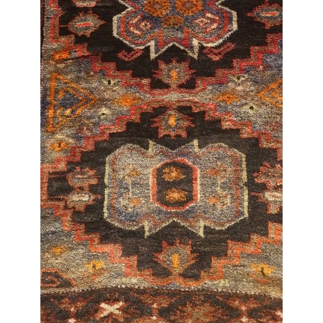 Vintage Persian Hamadan Rug - 2′1″ × 4′9″ - Image 4 of 9